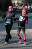 Brenda and Hallie Coffey made it past the first mile mark of the Anthem 5K and begin a stretch along Ninth Street. 3/4/17