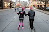 The Anthem 5K journey began for Hallie Coffey and her mother Brenda on Brook heading toward Chestnut on Saturday. 3/4/17
