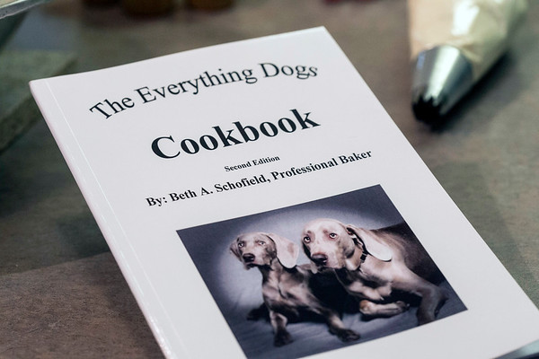 Sullivan grad and pro baker Beth Schofield released a cookbook of recipes for dog treats. 3/6/17