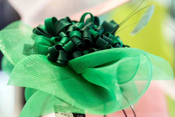 Fascinators created by Christine Moore are also available at Rhodes for Her. 3/9/17