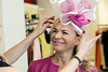 Rhonda Jo Conner was pleased with the selection of hats by milliner Christine Moore. 3/9/17