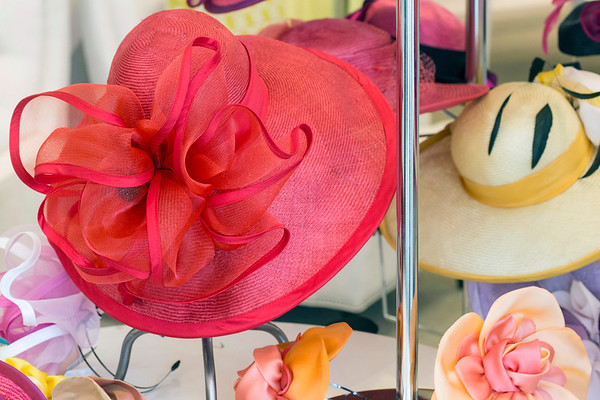 Splashes of color and detail define the work of milliner Christine Moore. 3/9/17