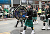The Louisville Police Pipes & Drums particpated in the St. Patrick's Parade on Saturday. 3/11/17
