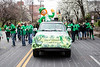 The O'Connell's were one of several multi-generational clans from Louisville to participate in the St. Patrick's Parade on Saturday. 3/11/17