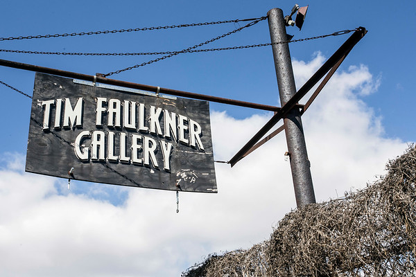 The Tim Faulkner Gallery in Portland was the scene of a multiple shooting on Saturday night that left one person dead and five others hospitalized. 3/19/17