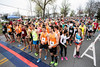 Participants in the annual Papa John's 10-Miler line up along 3rd Street just south of Central Avenue early Saturday morning. 4/1/17
