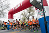 The annual Papa John's 10-Miler began shortly after 8 AM on Saturday morning. 4/1/17