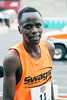 Ernest Kibet finished 1st in the Papa John's 10-Miler with a time of 00:49:33.02 on Saturday. 4/1/17