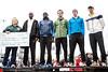 The top five finishers in the Papa John's 10-Miler were Ernest Kibet, Japhet Kipkoech, Jordan Kyle, Jeremy Johnson, and Dustin Betz. 4/1/17