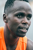 Ernest Kibet of Louisville was the overall winner of the Papa John's 10-Miler on Saturday morning. 4/1/17