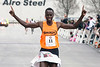 Ernest Kibet of Louisville crossed the finish line first during the annual Papa John's 10-Miler on Saturday morning. 4/1/17