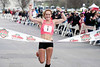 Rosie Edwards of Indianapolis finished 1st among women during the Papa John's 10-Miler with an overall time of 00:55:52.42 and an average pace of 5:35 per mile. 4/1/17