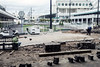 Construction work continued around Churchill Downs on Tuesday as completion of a $16 million upgrade brings major changes to the second floor clubhouse and surrounding areas. 4/4/17