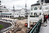 A new balcony attached to the Gold Room at Churchill Downs is part of the $16 million upgrade to the second floor clubhouse of the iconic racing venue. 4/4/17