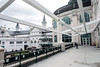 A new balcony overlooking the paddock is part of a $16 million upgrade to the second floor clubhouse at Churchill Downs. 4/4/17