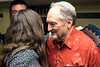 Warrior's Heart participant Sam Brown receives a closing night hug from director Kristen Hughes. 3/9/17