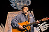 John Gage performed eco-friendly themed songs during the Louisville Earth Walk at the Iroquois Amphitheater on Saturday morning. 4/22/17