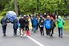 Around 100 people endured the rainy conditions in Iroquois Park on Saturday morning for the first Louisville Earth Walk. 4/22/17