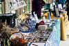 Eco-friendly vendors lined the upper mezzanine of the Iroquois Amphitheater on Saturday as part of the Louisville Earth Walk. 4/22/17
