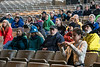 A crowd listened to a speech by Congressman John Yarmuth at the Iroquois Amphitheater during the Louisville Earth Walk on Saturday. 4/22/17