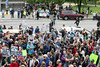 The crowd gathered for the Louisville March for Science on Sunday grew to a scale that forced some in attendance to watch from across Jefferson Street. 4/23/17