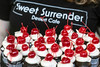 Little cherry-topped cupcakes by Sweet Surrender were a popular item at the KDF Taste of Derby Festival. 4/25/17