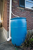 Harvesting rain water is another way to help with environmental issues in the eco-village of Deer Park. 4/7/17