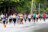 Racers stretched along 3rd street as the KDF marathons took place after several weather delays on Saturday morning. 4/29/17