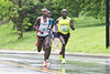 KDF miniMarathon winner John Murugu (#59) kept a steady pace near the UofL campus on his way to a victorious time of 1:03:06 on Saturday. 4/29/17