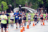 The pack increased in size as it made its way up 3rd Street roughly 45 minutes into the miniMarathon on Saturday. 4/29/17