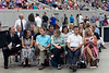 Parents of the top students in the 2017 class at Bullitt East High School  were given special seating for the graduation ceremony on Saturday. 5/27/17