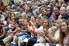 The audience applaud the graduating class at Silver Creek High School on Sunday. 6/4/17