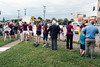 Around 50 parents and students from Norton Elementary rallied on Tuesday at the Van Hoose Education Center to protest the firing of Norton Elementary principal Ken Stites. 6/13/17