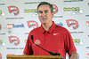WKU basketball head coach Rick Stansbury speaks during a press conference at the Hunting Creek Country Club on Monday afternoon. 6/19/17