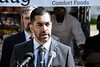 Attorney Arif Panju announced on Wednesday plans for a federal lawsuit on behalf of local food truck operators in an effort to declare the city's imposed buffer zone as unconstitutional. 6/28/17
