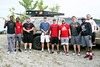 Nine members of the UofL football team arrived at Mystery Lake in Fern Creek to do some fishing with US military veterans on Saturday morning. 7/22/17