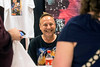 Actor Keith Coogan (Adventures in Babysitting, Toy Soldiers) interacts with a few of his fans during a Saturday appearance at FandomFest. 7/29/17