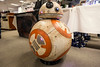 The popular droid known as BB-8 was on site to interact with Star Wars fans at FandomFest. 7/27/17