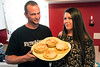 Erik Gunn and Amanda Hall open their PRP home to friends on Sundays to enjoy a pancake breakfast. 7/30/17