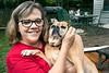 Susie Bowling shares a home with her family and dog Oscar in the Hikes Lane area. 8/7/17