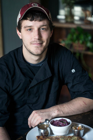 Chef Alex Weber offers a menu described as European-inspired southern comfort food at Eiderdown on Goss Avenue. 8/15/17