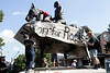 Members of the Louisville Showing Up for Racial Justice group scaled and defaced the Castleman statue in the Highlands on Saturday to voice outrage for its supposed offensiveness. 8/19/17