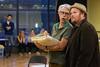Daniel Mobbs and Garrett Sorensen rehearse a scene together for the Kentucky Opera performance of Ariadne auf Naxos. 9/1/17