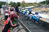 Groups of riders line up at the starting gate during the Derby City BMX Nationals. 9/2/17
