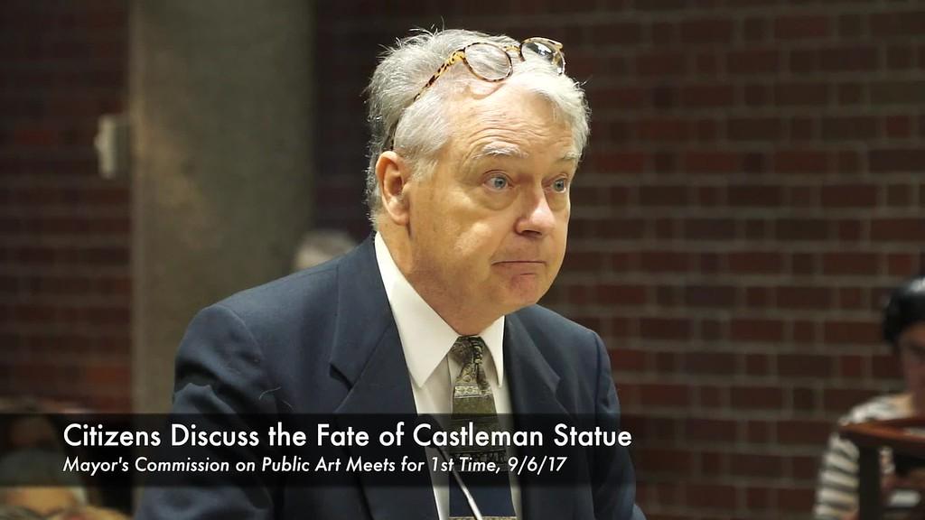 Castleman Statue Meeting--PEARL