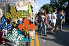 Local artists set up shop during the annual Highlands Festival on Saturday as thousands of partrons gathered in the 900 block of Baxter Avenue. 9/9/17