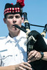 Tamara Stewart of the Louisville Pipe and Drums played Amazing Grace during the 9-11 Memorial at the Big 4 Station. 9/10/17