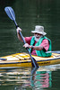 David Dockstader finished a 22-mile paddling trip from Westport, KY with energy and enthusiasm during the Great Ohio River Odyssey on Saturday. 9/16/17