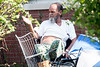 James Thompson has lived in the New Albany Housing Authority neighborhood of Parkview for 55 years--including his current residence on Morgan Ave for the past 28 years. According to Thompson, the area was once full of good working class people who took pride in property upkeep, but has seen a recent decline due to drug-related crime. 9/20/17