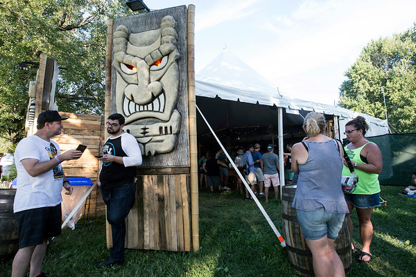 The Tiki Barrel Bar promises a good time during Bourbon & Beyond. 9/23/17